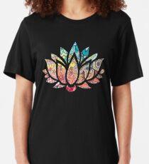 Kundalini Yoga - Kundalini Chakra Shirt - Kundalini Lotus Flower Slim Fit T-Shirt