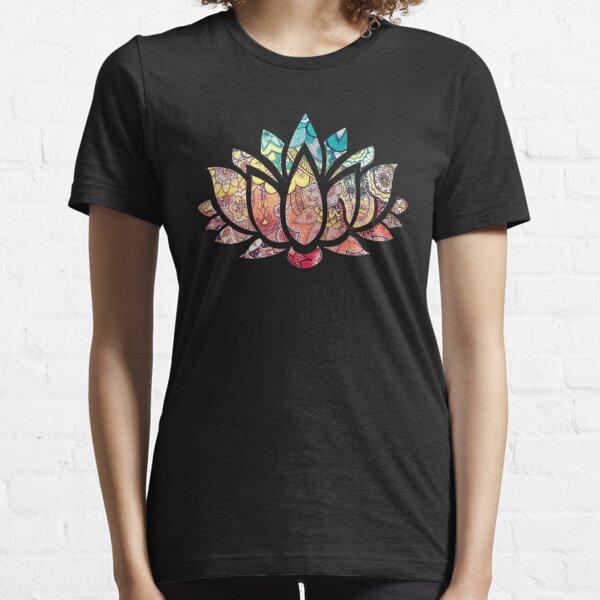 Kundalini Yoga - Kundalini Chakra Shirt - Kundalini Lotus Flower Essential T-Shirt