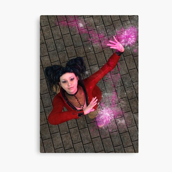 Young Magus Canvas Print