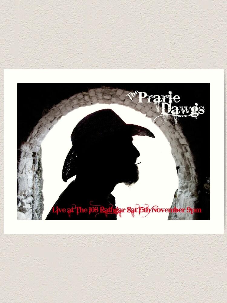 Alternate view of Prairie Dawgs Art Print