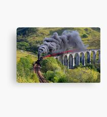 The Jacobite train Canvas Print