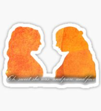 Sansa and Margaery Sticker
