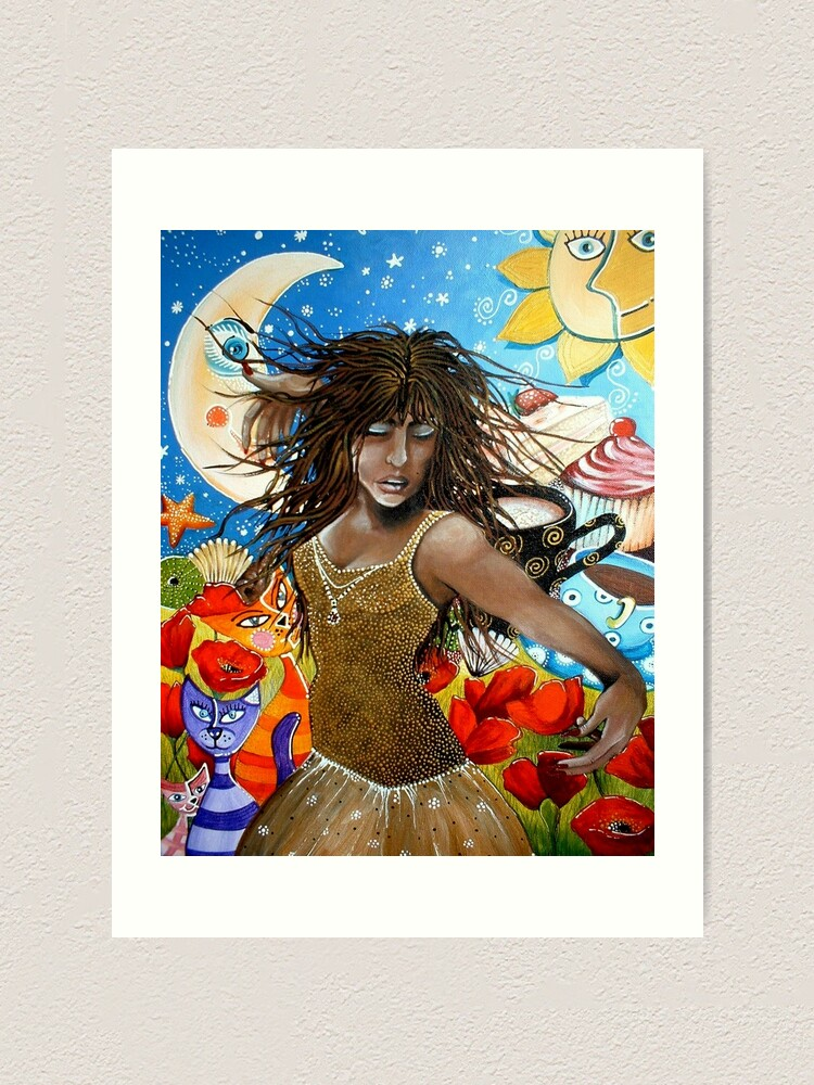 Alternate view of Free Spirit Art Print