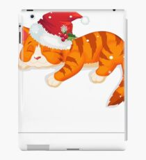 Christmas Cat Shirt  iPad Case/Skin