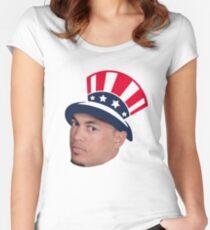 Giancarlo Stanton Yankees NL MVP Women's Fitted Scoop T-Shirt