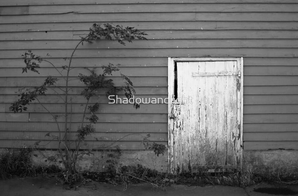 White door by Shadowandlight
