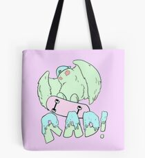 Rad Dude With a Bad 'Tude Tote Bag