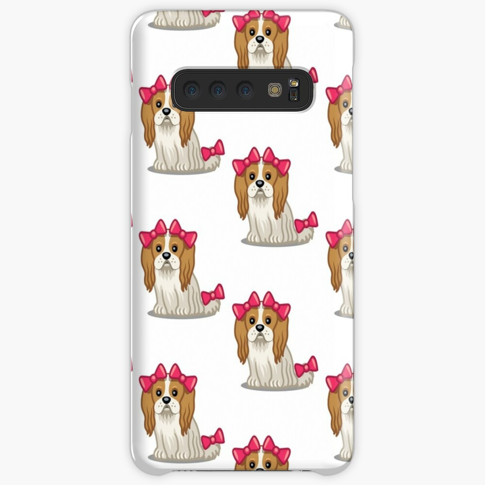 King Charles Cavalier Spaniel tshirt - Dog Gifts for Cavalier and Spaniel Pet Lovers Case & Skin for Samsung Galaxy