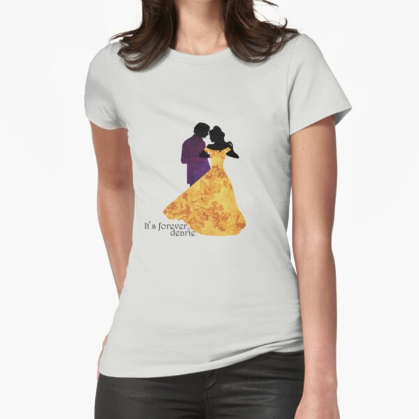 Rumbelle - It's Forever Dearie Fitted T-Shirt
