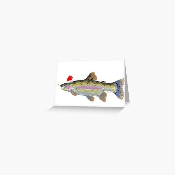 Fish Kringle Greeting Card