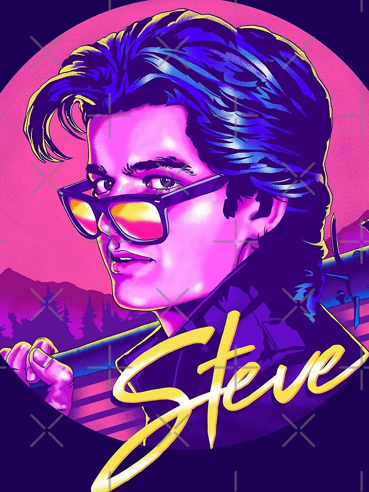 Stranger Things Steve Harrington by thelasttype