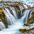Bruarfoss, Iceland by Paul Pichugin