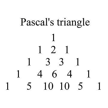 Pascals Triangle #PascalsTriangle Number Pattern #NumberPattern by znamenski