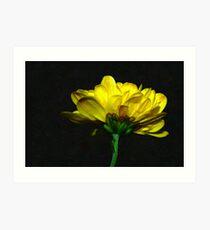 Yellow Singleton Art Print