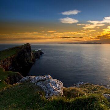 Neist Point Lighthouse by cieniu1