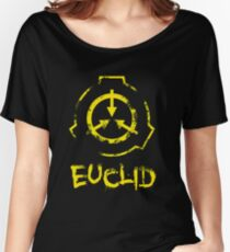 SCP Foundation: Euclid Women's Relaxed Fit T-Shirt