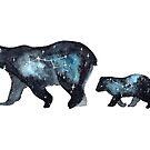 « Ursa Major and Ursa Minor » par Threeleaves