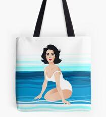 Suddenly Liz Tote Bag