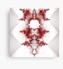 Fractal art - Mandelbrot tile bat Canvas Print