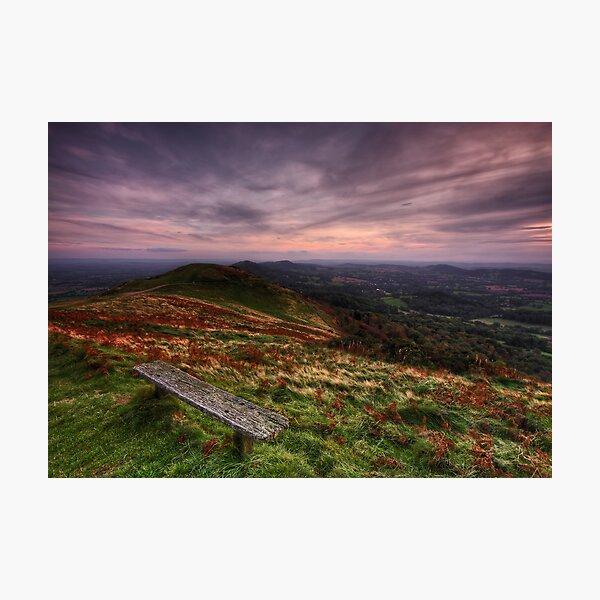 Take a Break - The Malvern Hills Photographic Print