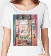 The Open Window- Henri Matisse Women's Relaxed Fit T-Shirt