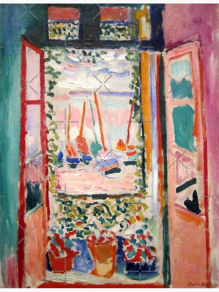 The Open Window- Henri Matisse by LexBauer