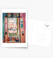 The Open Window- Henri Matisse Postcards