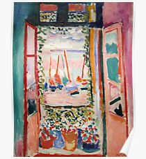 The Open Window- Henri Matisse Poster