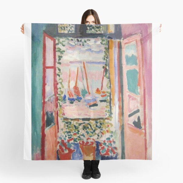 The Open Window- Henri Matisse Scarf