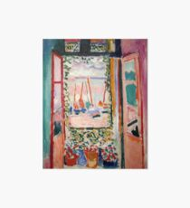 Das offene Fenster - Henri Matisse Galeriedruck
