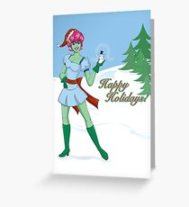 On the Nice List Greeting Card