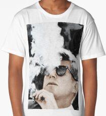 John F Kennedy Cigar And Sunglasses Long T-Shirt