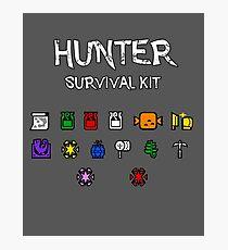 Hunter Survival Kit Photographic Print