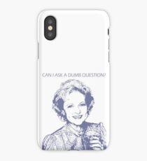 Rose Nylund - Golden Girls iPhone Case