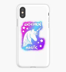 Unicorn Magic - Pink Rainbow iPhone Case/Skin