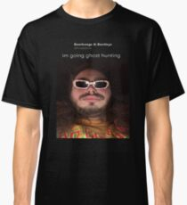 """Post Malone """"im going ghost hunting"""" Classic T-Shirt"""