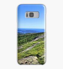 View From The Top Of Cadillac Mountain 3 - Acadia National Park Samsung Galaxy Case/Skin