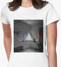 Alt J Disaster Room Women's Fitted T-Shirt