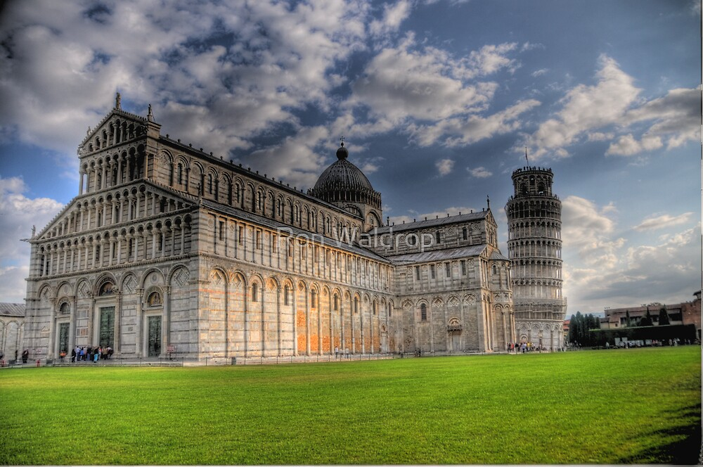 The Leaning Tower Of Pisa by Ron Waldrop