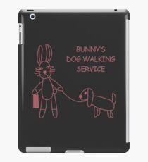 Bunny's Dog Walking Service (Buffy/Willow) iPad Case/Skin