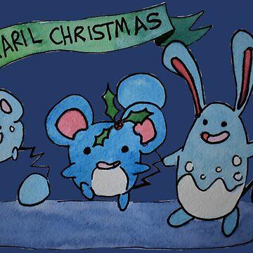 Maril Christmas by Alan2903