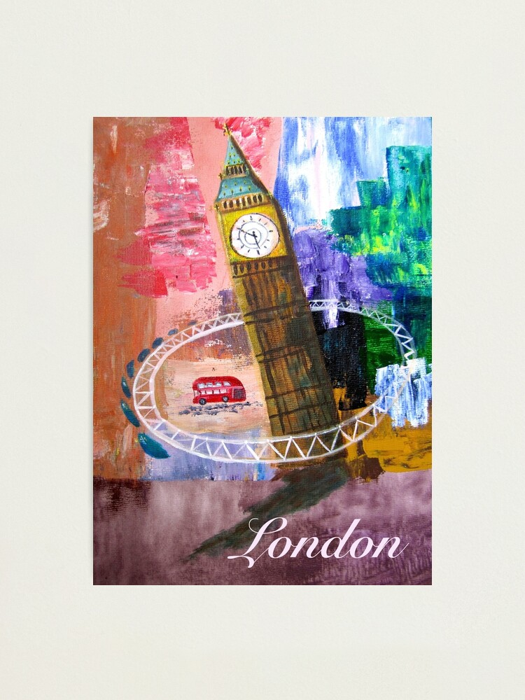 Alternate view of London Photographic Print
