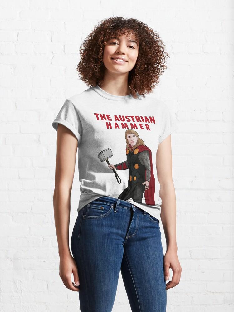 Alternate view of The Austrian Hammer Classic T-Shirt