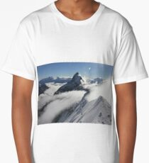 Matterhorn summit (Swiss Alps) Long T-Shirt