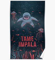Tame Impala Deep World Poster