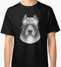PitBull on black Classic T-Shirt