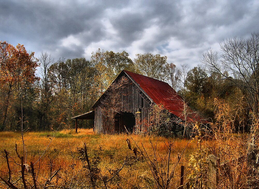 ~Autumn Barn~ by Marylee Pope