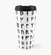 Medieval Runes Collected Travel Mug
