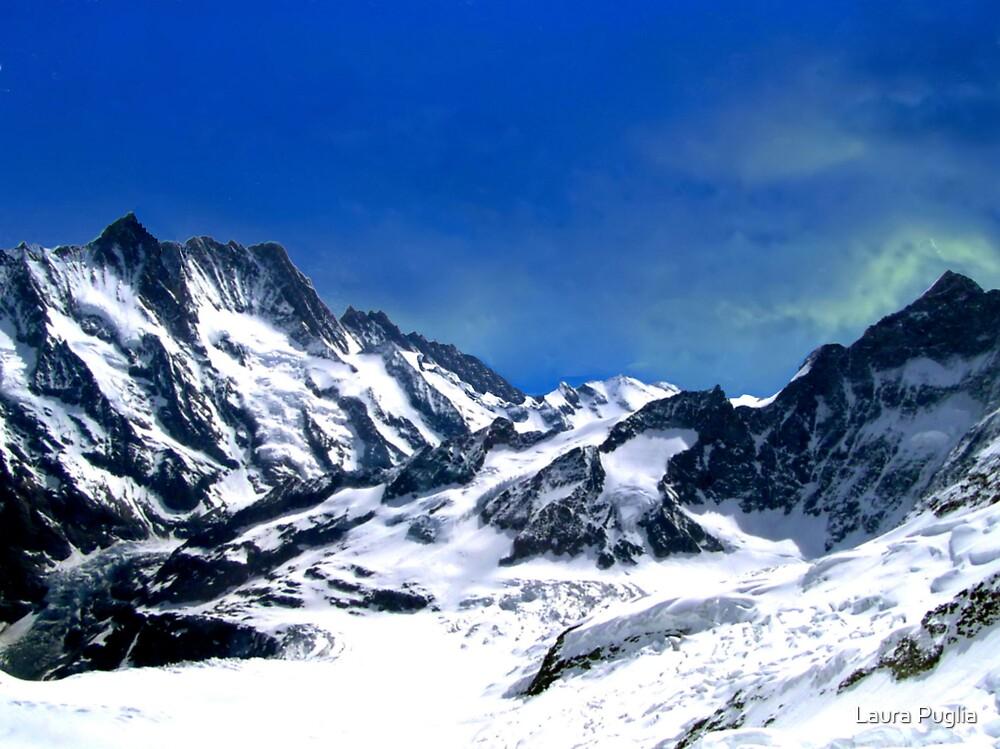 Aletsch Glacier  by Laura Puglia