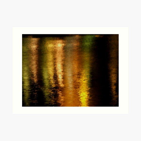 River Blush Art Print